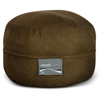 Mod Pod Bean Bag for Kids - Chocolate Suede