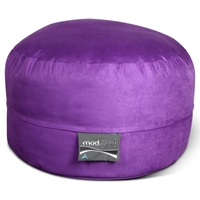 Mod Pod 40 Inch Suede Bean Bag - Purple