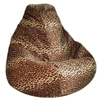 Leopard Animal Print Bean Bag Chair
