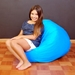 Classic Blue Kids Bean Bag - EL-30-9500-006
