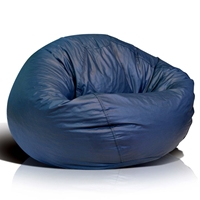 Classic Medium Bean Bag in Navy Blue