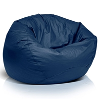 Classic Extra Large Bean Bag in Navy Blue