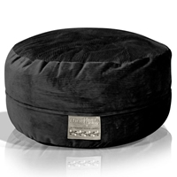 Mod Pod Black Deluxe Corduroy Bean Bag