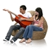 Sitsational Corduroy Foam Bean Bag Sofa - EL-32-6502-XXX-S