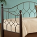 Bianca Twin Daybed with Solid Hardwood Posts - FBG-B91633