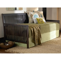 Mission Slat Panel Daybed in Espresso Finish