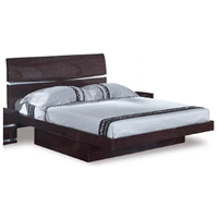 Aurora Contemporary Platform Bed with Storage