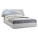 Barcelona Bed in High Gloss Silver Line - GLO-BARCELONA-116-BED