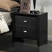 Carolina Nightstand, Black - GLO-CAROLINA-FD0035B-BL-NS-M