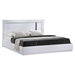 Jody Bed in High Gloss White - GLO-JODY-911A-WH-M-BED