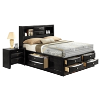 LinDa Bed, Black