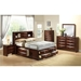 Linda Bed, New Merlot - GLO-LINDA-M-M-BED