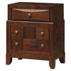 Oasis Nightstand - Oak Finish