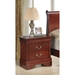Philippe Nightstand in Cherry - GLO-PHILIPPE1-4937-NS-M