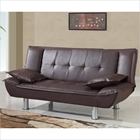 Breanna Sofa Bed in Brown