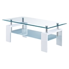Brooklyn Coffee Table in Glossy White