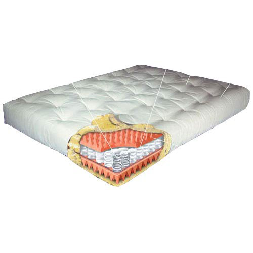 8'' Full Euro Coil Futon Mattress - Model 108