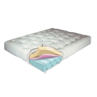 8.5'' Visco Touch Queen Futon Mattress - Model 630