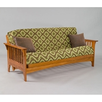 Boston Cherry Oak Futon Frame