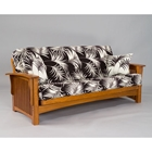 Manhattan Cherry Oak Futon Frame