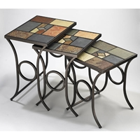 Pompei Nesting Tables Set