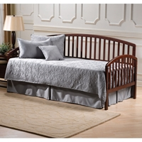 Carolina Cherry Finished Daybed with Rollout Trundle