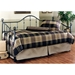 Chalet Textured Black Metal Daybed - HILL-11177DBLH