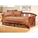 Dorchester Sleigh Daybed in Brown Cherry - HILL-287DBLH