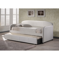 Springfield White Daybed and Trundle Set