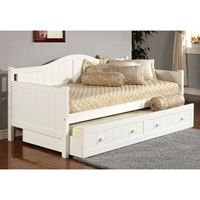 Staci Wooden Daybed with Trundle