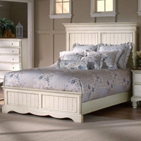 Wilshire Wooden Panel Bed