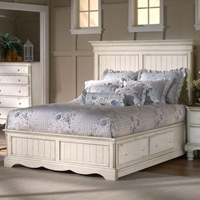 Wilshire Wooden Panel Storage Bed