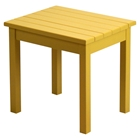 Plantation Porch Side Table - Cornbread Painted