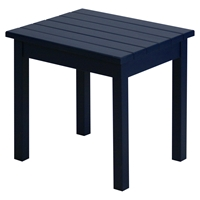 Plantation Porch Side Table - Midnight Painted