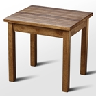 Plantation Porch Side Table - Maple Stain
