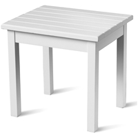 Plantation Porch Side Table - White Paint