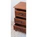 Windsor 3 Drawer End Table/Nightstand - Mahogany Stain - INTC-3848