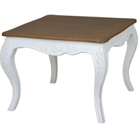 Ashbury Altesse End Table - Square, Antique White