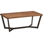 Hamburg Rectangular Coffee Table - Canyon Oak Top