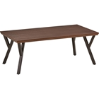 Hamburg Coffee Table - Rectangular, Canyon Oak Top