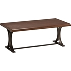 Hamburg Coffee Table - Canyon Oak Top