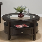 Marlon Round Cocktail Table - Wenge
