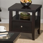 Marlon Square End Table - Wenge