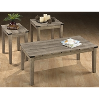 Taos 3 Pieces Coffee Table Set - Oak