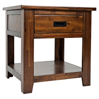 Coolidge Corner Square End Table