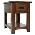 Coolidge Corner 1-Drawer Chairside Table