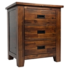 Coolidge Corner 3-Drawer Nightstand