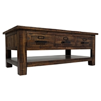 Cannon Valley 3-Drawer Cocktail Table