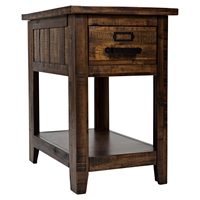 Cannon Valley 1-Drawer Chairside Table