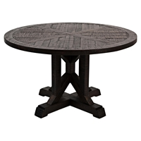 "Pacific Heights 32"" Round Cocktail Table - Chestnut"